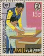 [International Year of Disabled Persons, type JZ]