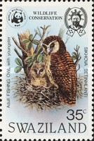 [Wildlife Conservation - African Fishing Owl, type KI]