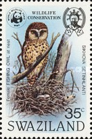 [Wildlife Conservation - African Fishing Owl, type KK]