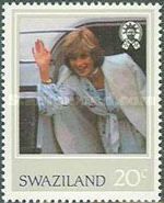 [The 21st Anniversary of the Birth of Princess Diana of Wales, 1961-1997, type KO]