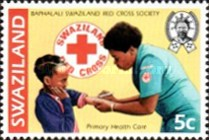 [The 50th Anniversary of Red Cross in Swaziland, type KV]
