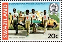 [The 50th Anniversary of Red Cross in Swaziland, type KW]