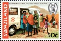 [The 50th Anniversary of Red Cross in Swaziland, type KX]