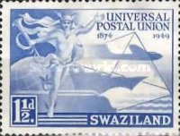 [The 75th Anniversary of Universal Postal Union, type N]