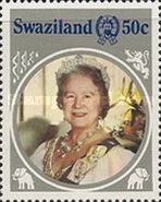 [The 85th Anniversary of the Birth of Queen Elizabeth the Queen Mother, 1900-2002, type NN]
