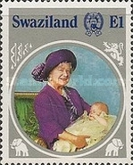 [The 85th Anniversary of the Birth of Queen Elizabeth the Queen Mother, 1900-2002, type NO]