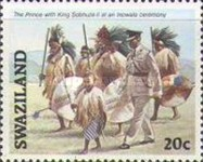 [Coronation of King Mswati III, type OF]