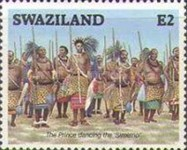 [Coronation of King Mswati III, type OJ]