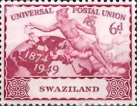 [The 75th Anniversary of Universal Postal Union, type P]