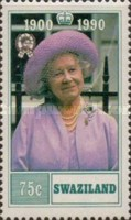 [The 90th Anniversary of the Birth of Queen Elizabeth the Queen Mother, 1900-2002, type QN]