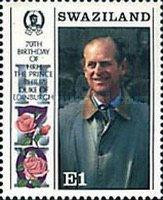 [The 65th Anniversary of the Birth of Queen Elizabeth II and the 70th Anniversary of the Birth of Prince Philip, type RF]