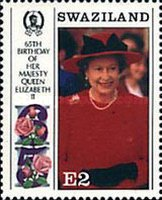 [The 65th Anniversary of the Birth of Queen Elizabeth II and the 70th Anniversary of the Birth of Prince Philip, type RG]