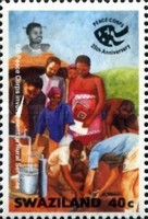 [The 25th Anniversary of U.S. Peace Corps in Swaziland, type SJ]