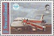 [The 50th Anniversary of International Civil Aviation Organization, type SQ]