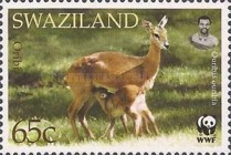 [Worldwide Nature Protection - Antelopes, type VA]