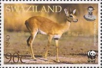 [Worldwide Nature Protection - Antelopes, type VB]