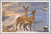 [Worldwide Nature Protection - Antelopes, type VD]