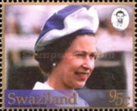 [The 50th Anniversary of the Accession of Queen Elizabeth II - With Gold Frame, type VJ]