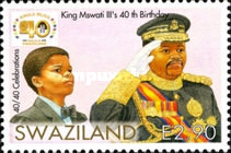 [The 40th Anniversary of Independence & The Birth of King Mswati III, type YP]