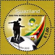 [Football World Cup - South Africa. The 3rd SAPOA Issue, type YR]