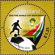 [Football World Cup - South Africa. The 3rd SAPOA Issue, type YS]