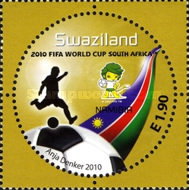 [Football World Cup - South Africa. The 3rd SAPOA Issue, type YU]