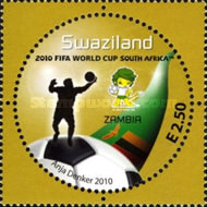 [Football World Cup - South Africa. The 3rd SAPOA Issue, type YV]