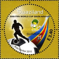 [Football World Cup - South Africa. The 3rd SAPOA Issue, type YW]