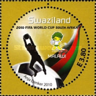 [Football World Cup - South Africa. The 3rd SAPOA Issue, type YX]