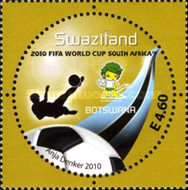 [Football World Cup - South Africa. The 3rd SAPOA Issue, type YY]