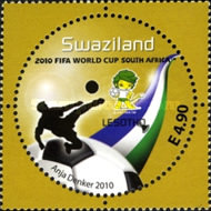 [Football World Cup - South Africa. The 3rd SAPOA Issue, type YZ]