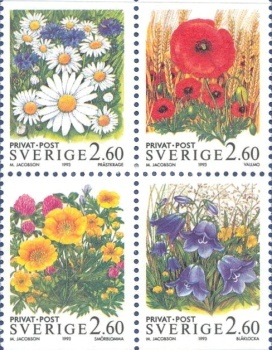 [Discount Stamps - Summer Flowers, type ]