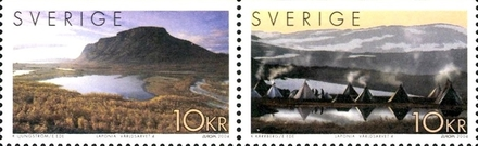 [EUROPA Stamps - Holidays. UNESCO World Heritage site 1996 - Laponia Nature Reserve, type ]