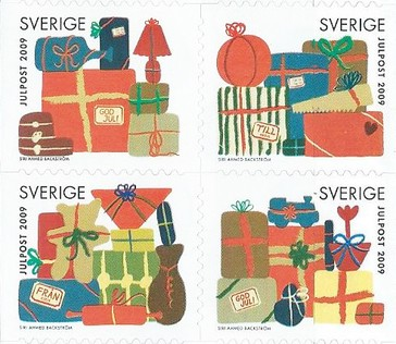 [Merry Christmas - Self-Adhesive Stamps, type ]