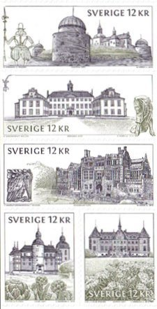 [Swedish Castles and Palaces - Self Adhesive, type ]