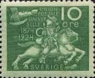 [The 50th Anniversary of the Universal Postal Union, Typ AD1]