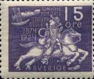 [The 50th Anniversary of the Universal Postal Union, Typ AD2]