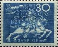 [The 50th Anniversary of the Universal Postal Union, Typ AD5]