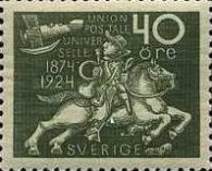 [The 50th Anniversary of the Universal Postal Union, Typ AD7]