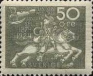 [The 50th Anniversary of the Universal Postal Union, Typ AD9]