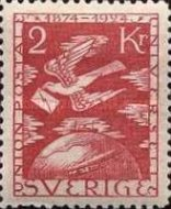 [The 50th Anniversary of the Universal Postal Union, Typ AE1]