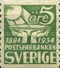 [The 50th Anniversary of the Postal Savings Bank, type AJ]