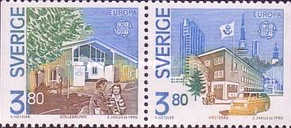 [EUROPA Stamps - Post Offices, type AON]
