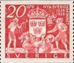 [Commemorating New Sweden, type BG]