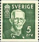[The 80th Anniversary of the Birth of King Gustaf V, type BJ]