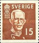 [The 80th Anniversary of the Birth of King Gustaf V, type BJ4]