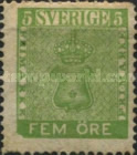 [Coat of Arms - Value in ÖRE, type C]