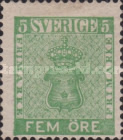 [Coat of Arms - Value in ÖRE, type C1]