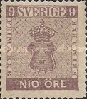 [Coat of Arms - Value in ÖRE, type C2]