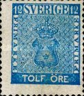 [Coat of Arms - Value in ÖRE, type C4]